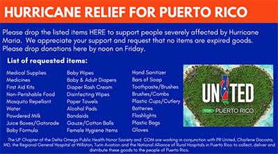 Hurricane Relief Puerto Rico